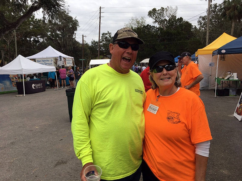 Day one, Homosassa Arts, Crafts, and Seafood Festival